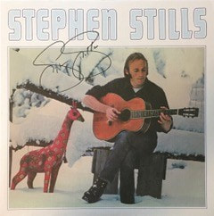 Stephen Stills Signed LP